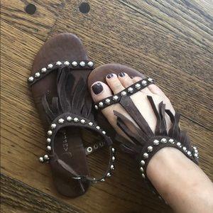 *Jeffery Campbell* Women sandals with tassels_SZ:7